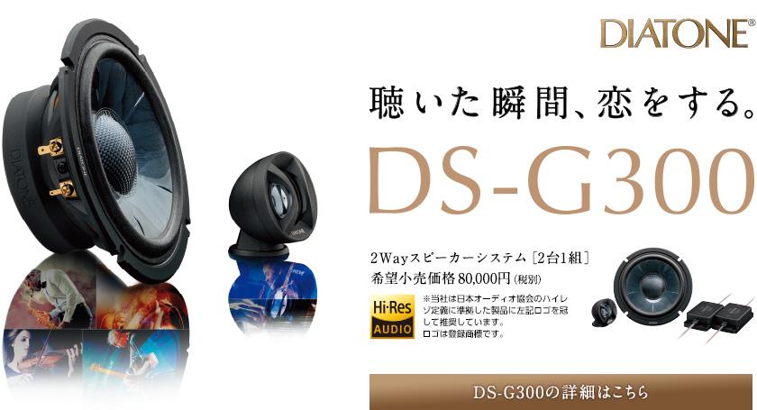 DIATONE DS-G300(2WAYスピーカー)定価80,000円(税別)